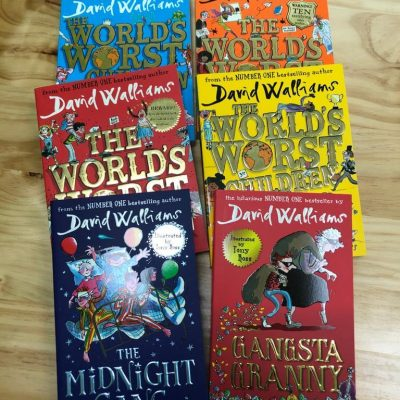 SparkEnglish library David Walliams