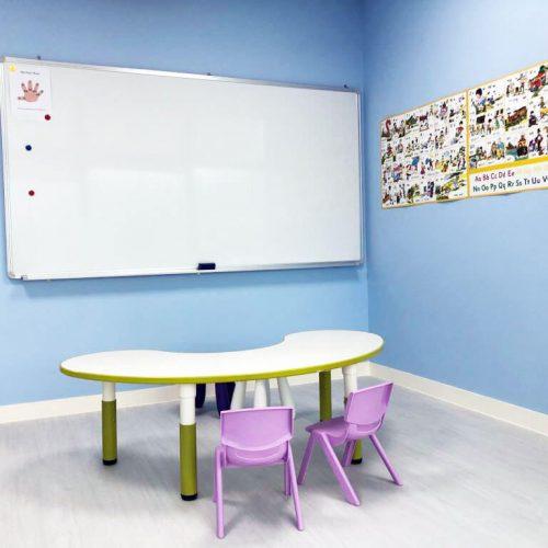 TW blue classroom